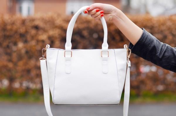 George Asda White Handbag