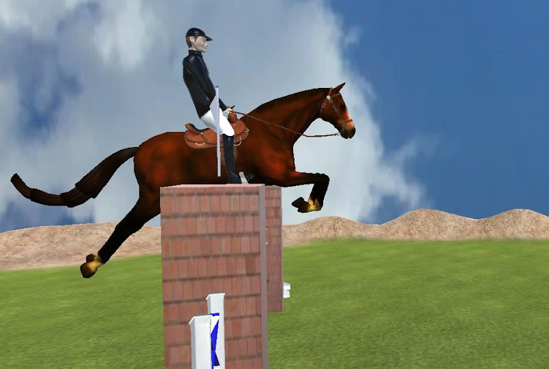 Скриншот Steeplechase - Horse Jumping