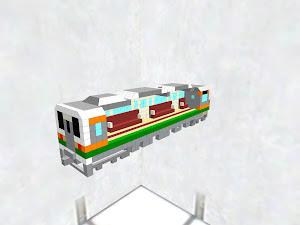 JR東海211系5000番台電車 カットモデル