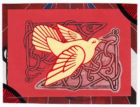Photo: Wenchkin's Mail Art 366 - Day 189 - Card 189a