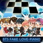 BTS - Fake Love Piano Tiles Icon