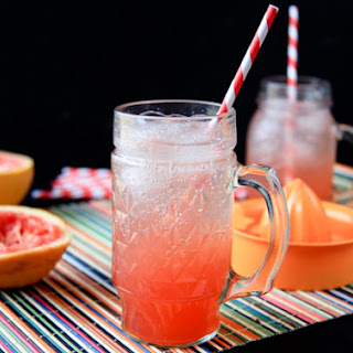 Simple Grapefruit Soda