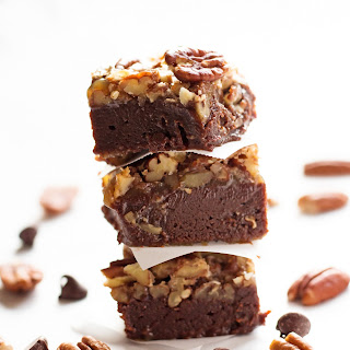 Bourbon Pecan Pie Brownies