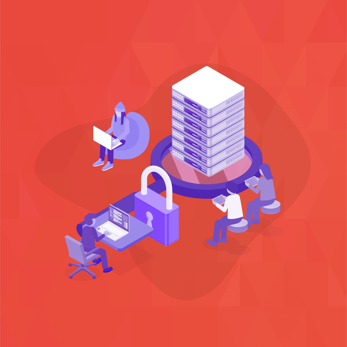 How does a Network-based vulnerability scan work?