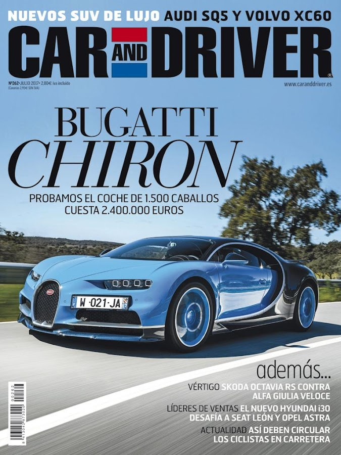 CAR AND DRIVER Revista- screenshot