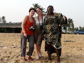 Photo: Claudine, Monique et Perpétue ne se baigneront pas !