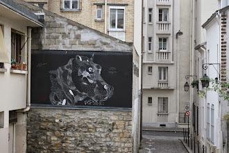 Photo: Street art - Philippe Baudelocque Paris XIIIe -La butte aux cailles