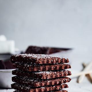 Gluten-Free Chestnut Chocolate Graham Crackers.