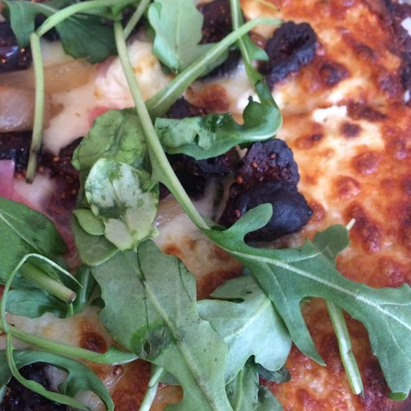 The Porky Fig gf pizza--yum!!