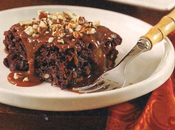 Pecan Toffee Brownies Recipe
