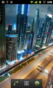 dubai live wallpaper screenshot 1