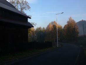 Photo: 2012r., Październikowy poranek droga w kierunku Lewina Kłodzkiego