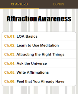 Attraction Awareness - náhled