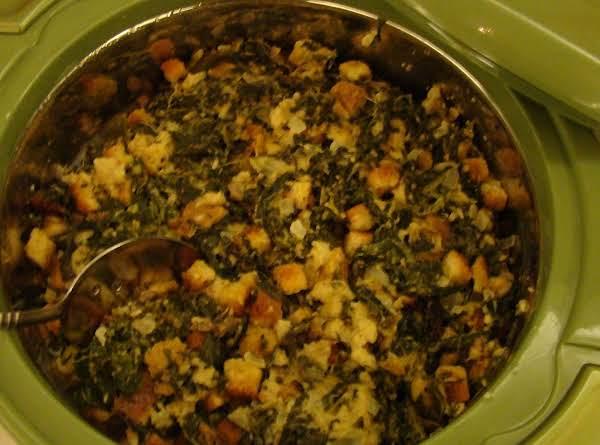 Susan's Spinach Casserole Recipe
