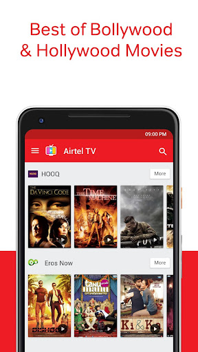 Airtel TV: Movies, TV series, Live TV 1.5.5.4 screenshots 3