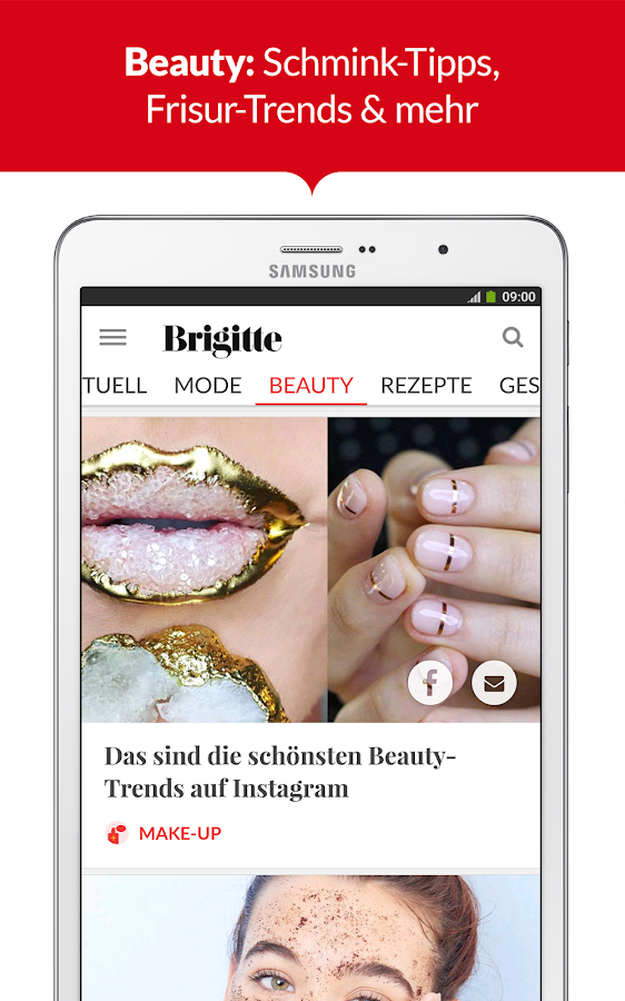 BRIGITTE - Mode, Liebe, Beauty- screenshot