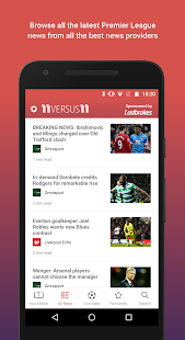 11versus11 –your football news- screenshot thumbnail