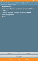Screenshot of FINARX Qlaqs Timesheet