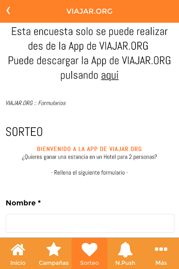 VIAJAR.ORG- screenshot