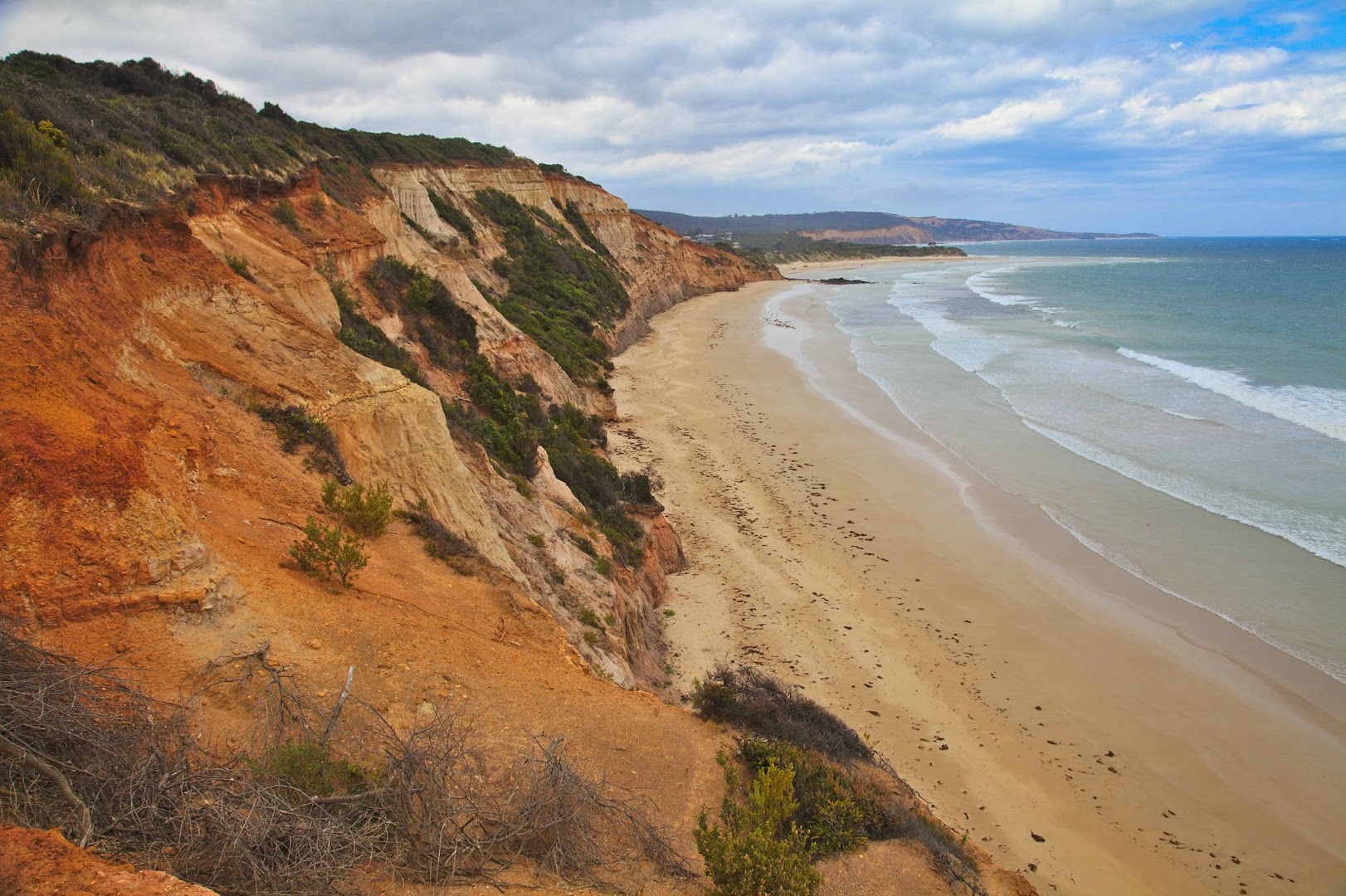 Riding the Great Ocean Road to the west of Melbourne