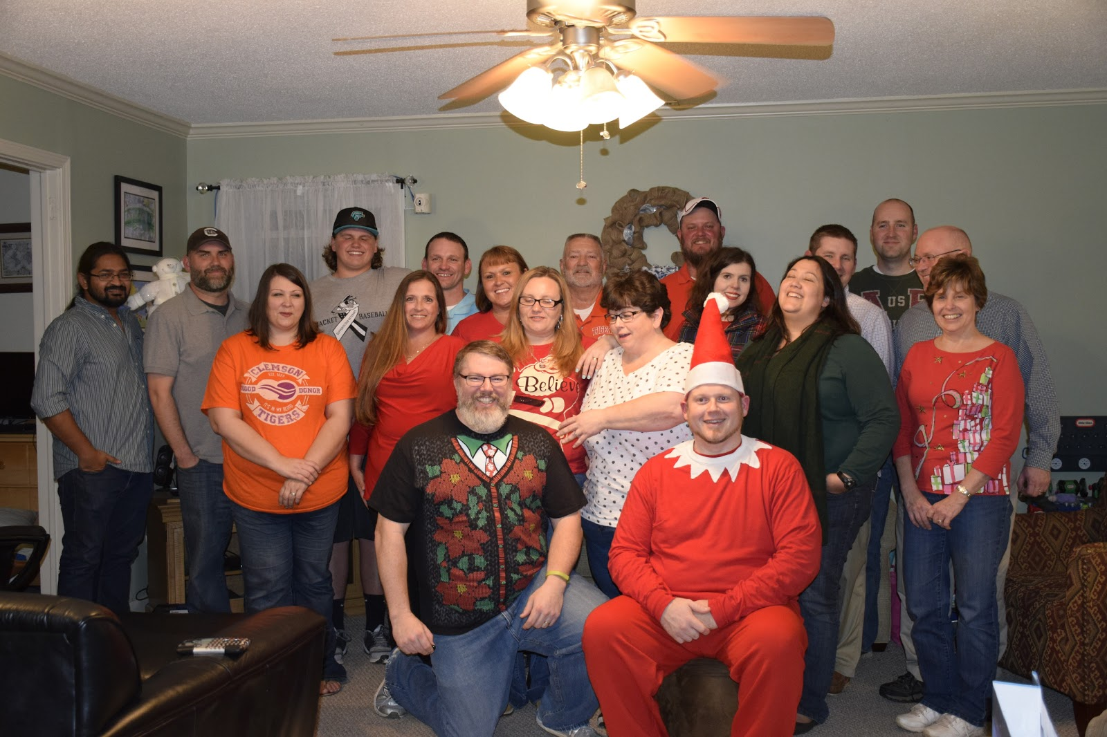 Hope, Fellowship & Class 633 Christmas Party 2015