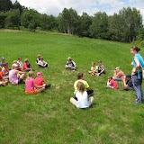 Mladší: devátý den - hry na celodenním pěším výletě do Hříměždic (2)