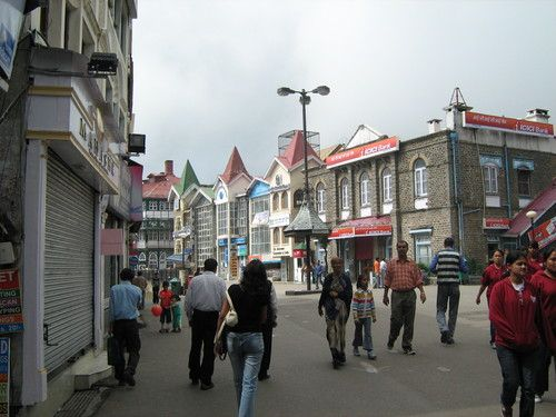 Scandal Point in Shimla