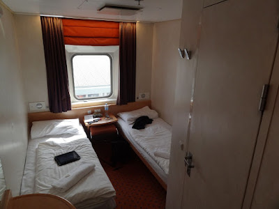 My cabin on the ferry to Tasmania