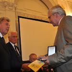 Rubovszky András főtitkár és Dr. Tóth József, a Széchenyi Társaság elnöke adta át a kitüntetéseket