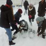 Iarna... prin curtea şcolii
