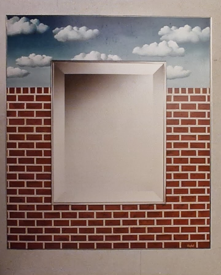 magritte mirror