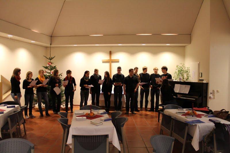 Ökumenischer Adventsgottesdienst WiSe 2012/2013