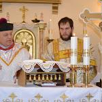 Mgr.Szalay Gyula esperes és Zirig Kristóf diakónus