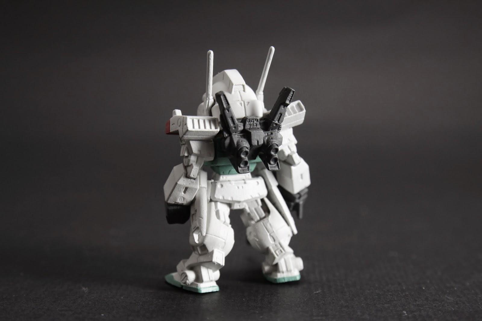 看的出來基本架構有沿用Gundam mk II
