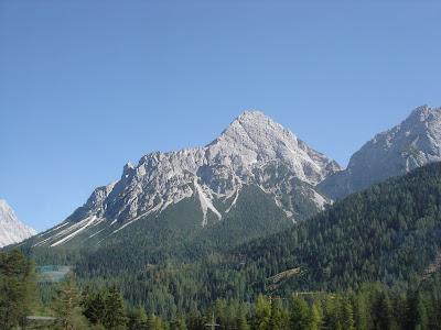 Austrian mountains near Innsbruck