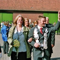 2007 Ausholen der Majestäten vom Hof Hummelt