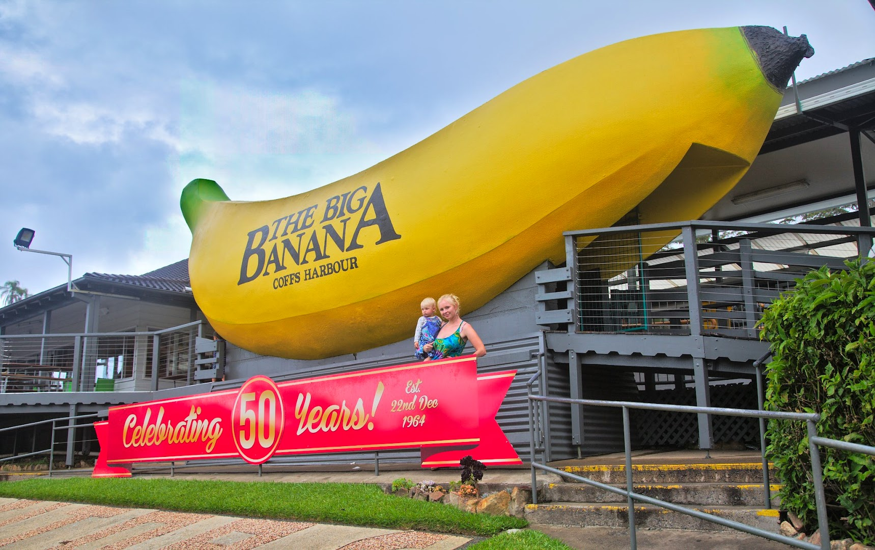 "Australia has many of ""great"" funny things, like this banana, celebrating 50th anniversary"