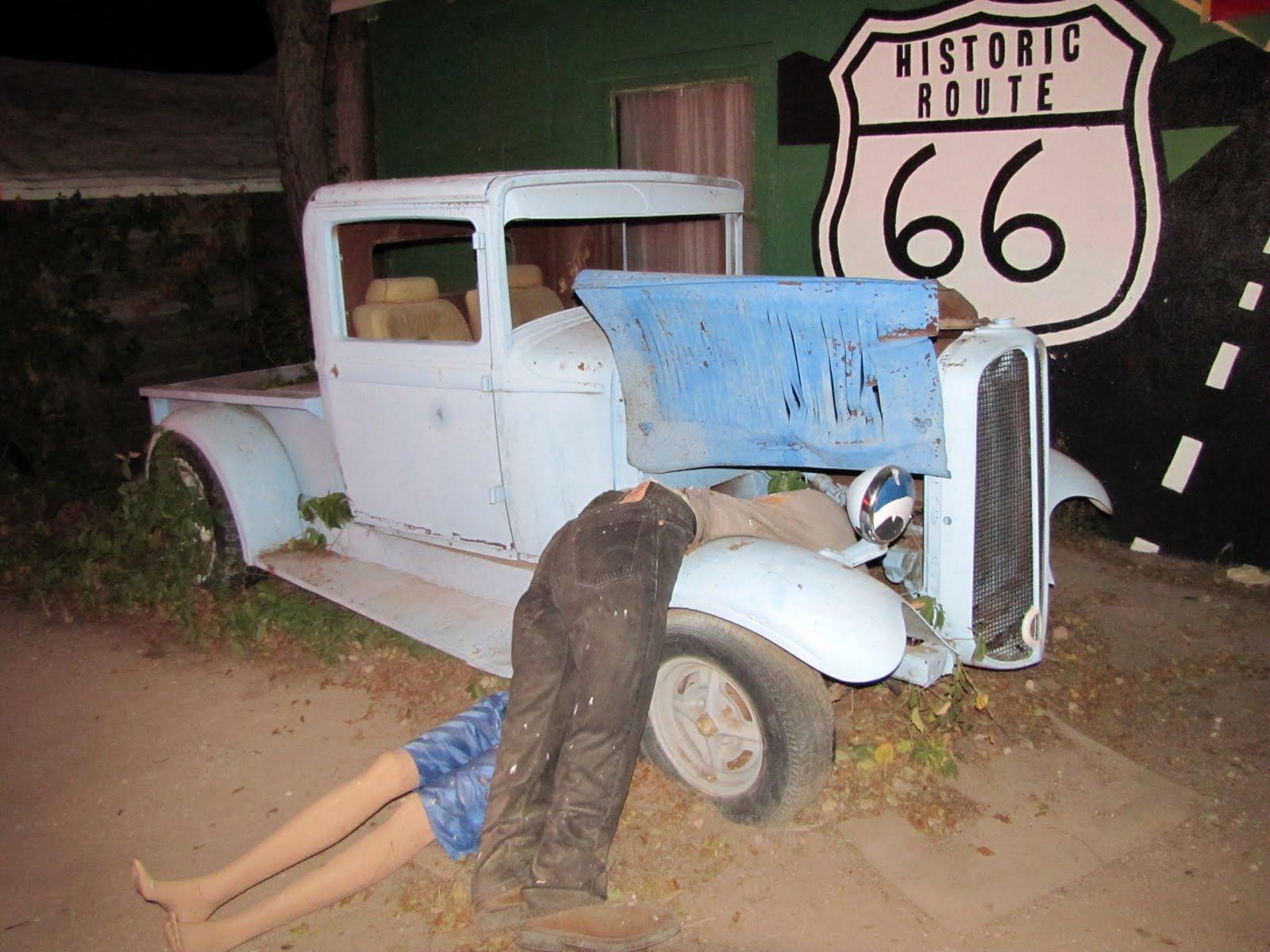 Route 66, Arizona, 1933 Chevrolet Series CB Pickup