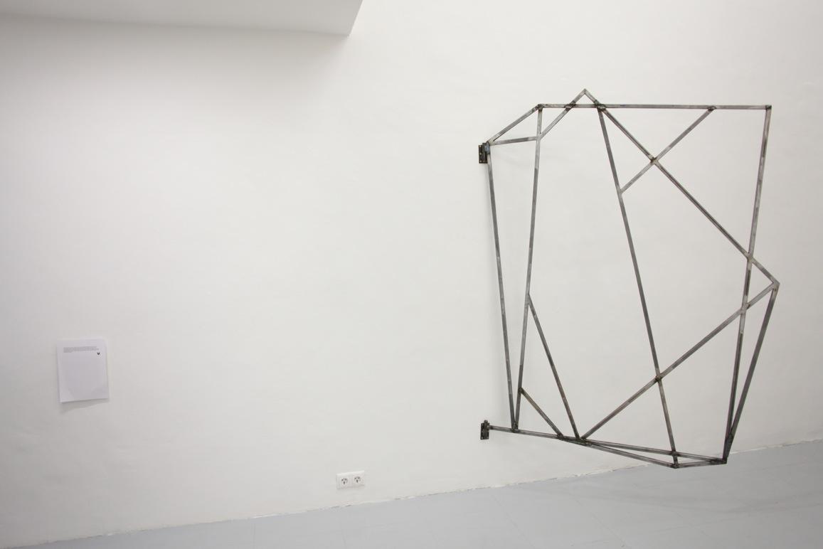 Fran Meana: blank, black, back.