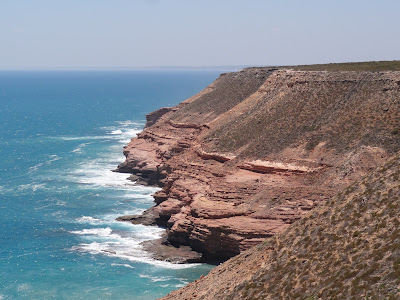 Kalbarri is known for its sea cliffs