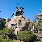 Plaza San Martin in Mendoza