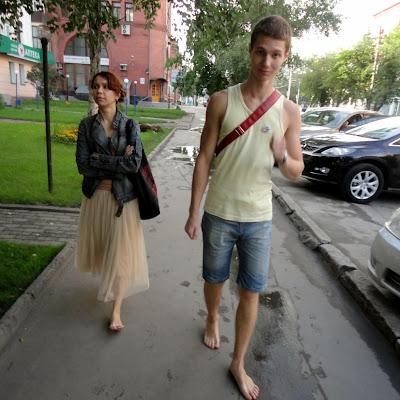 Босиком по Новосибирску!