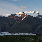 Near the campsite at Skaftafell National Park, 1 am