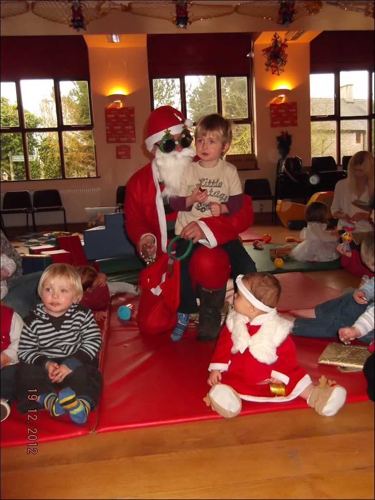 Parent and Toddler Group Xmas Party - Dec 2012