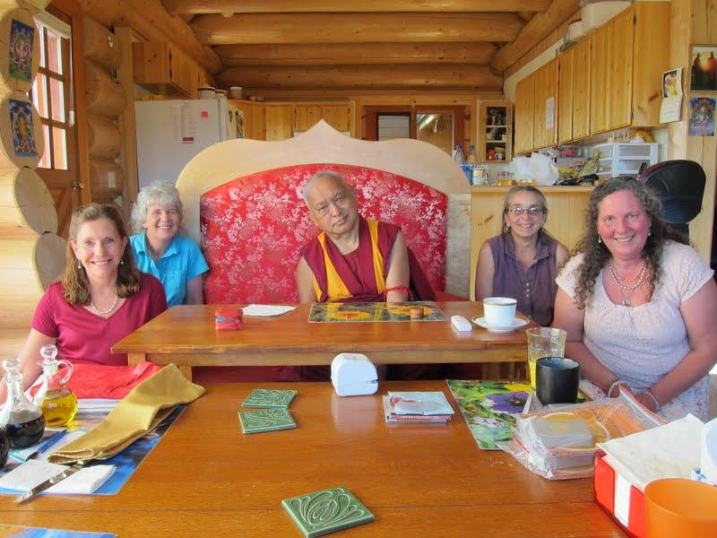 Rinpoche with Pamtingpa Center board