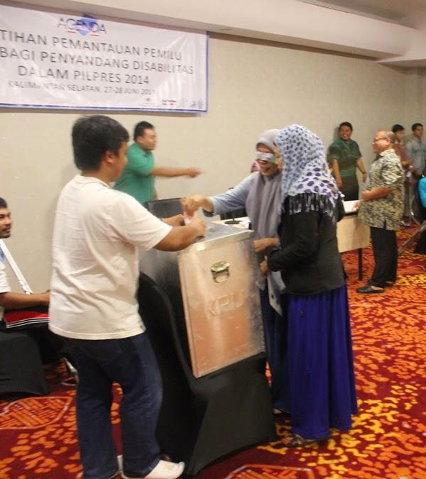 South Kalimantan Workshop Election Voting Simulation 27-28 June 2014 - 4 (E)