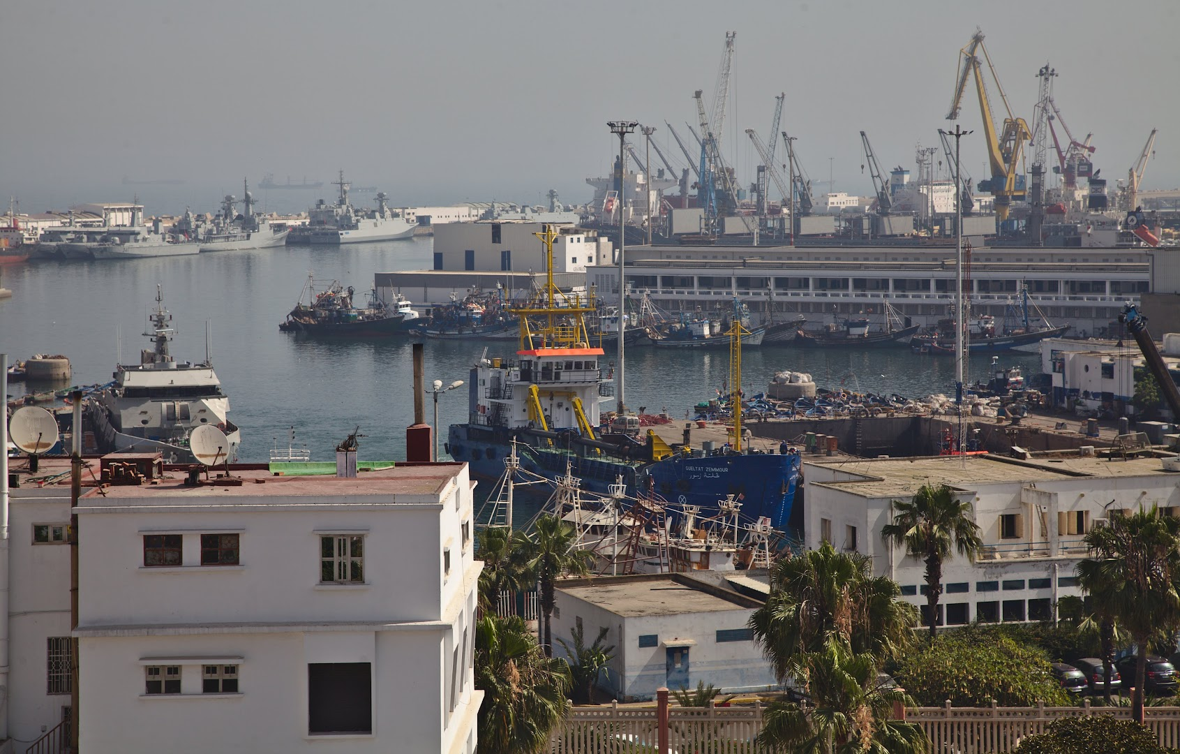 The port of Casablanca