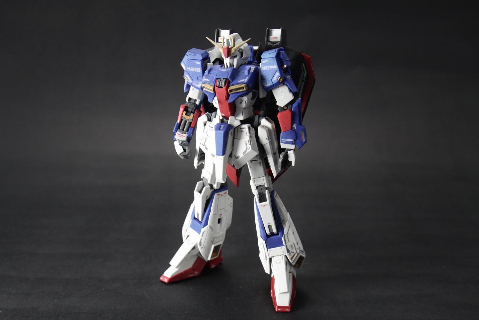 Zeta Gundam本體 其實我有全機上色