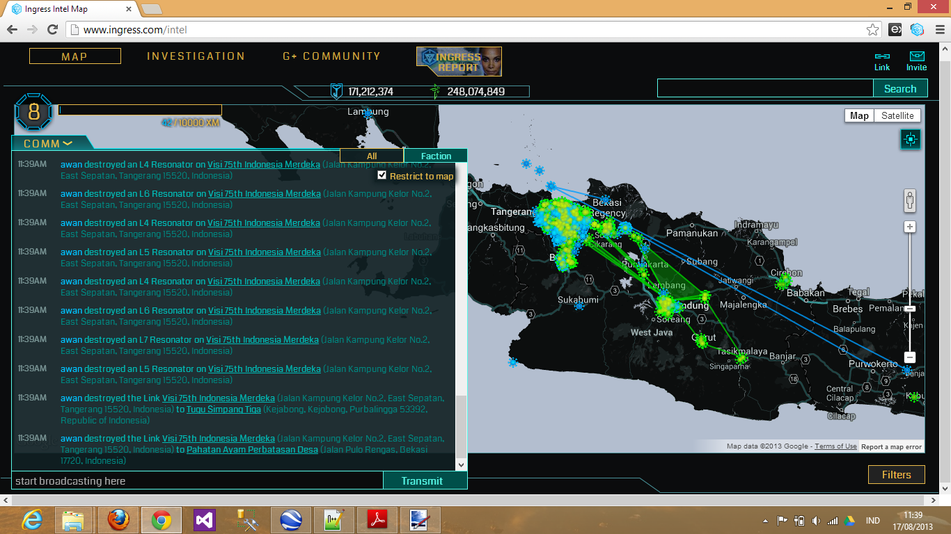 awan flipped Visi 75th Indonesia Merdeka