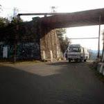 Rail underbridge near Sunrise Villa